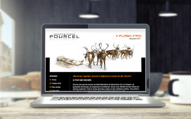Nish Design - Groupe Pourcel newsletter design