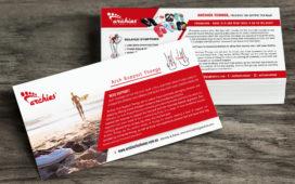 ©Nish-Design, agence de creation, Paris, Flyers Design, Australie, archies Thongs, pronation, art direction, graphiste, artwork, illustration, design, communication, cornelia van der Putten